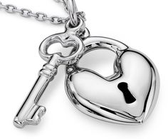 Key to My Heart Pendant in Sterling Silver #BlueNile