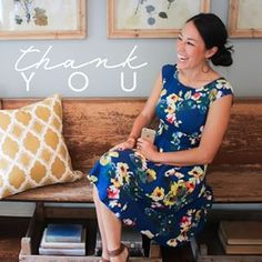 This dress. So fresh and feminine! And Joanna Gaines is the cutest. seriously the woman can do no wrong. Gaines Fixer Upper, Fixer Upper Joanna, Magnolia Fixer Upper, Magnolia Joanna Gaines, Joanna Gaines Style, Chip And Joanna Gaines, Chip Gaines, Fixer Upper Tv Show, Magnolia Market