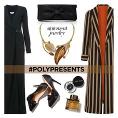 """#PolyPresents: Statement Jewelry"" by nazan-m ❤ liked on Polyvore featuring Gabriela Hearst, Etro, Oscar de la Renta, Bobbi Brown Cosmetics, Burberry, contestentry and polyPresents"