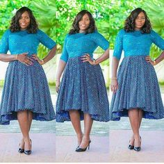 African Attire, African Wear, African Dress, African Fashion, Ankara Fashion, African Style, Native Wears, Nice Dresses, Short Sleeve Dresses