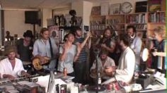 Edward Sharpe And The Magnetic Zeroes NPR Music Tiny Desk Concert, via YouTube.