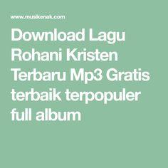 Download Lagu Rohani Kristen Terbaru Mp3 Gratis terbaik terpopuler full album Breakout Harley Davidson, Xmas, Musik