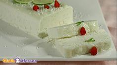 Ricetta Bavarese al cioccolato bianco e salsa alla menta - Le Ricette di GialloZafferano.it