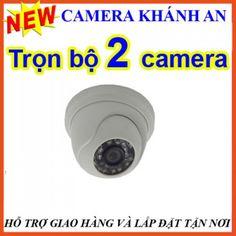 Lắp đặt camera trọn gói 2 camera AHD 1M tại tp hcm, Khánh An, 0947.982.782