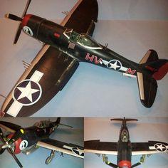 P-47M Thunderbolt 1/48 Tamiya. Unknown modeler #scalemodel #plastimodelismo #plasticmodel #plastickits #usinadoskits #udk #modelismo #modelism #modelisme #plamodel #miniatura #miniatur #miniature #maqueta #maquette #hobby #tamiya