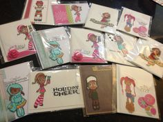 Holiday Card Set 8 for 2000 LIMITED TIME OFFER by Chelacreates, $8.00