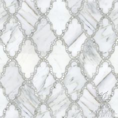 Marble with glimmery inlay