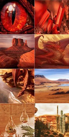 Red dragon aesthetic
