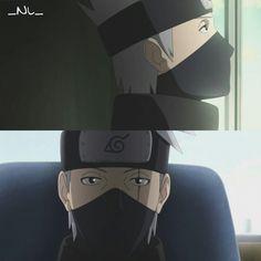 Kakashi. Naruto