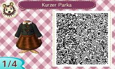 Winter Collection | QR codes - Animal Crossing: New Leaf