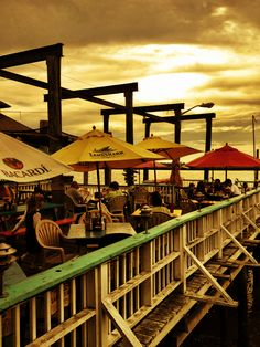 AJ's Dockside Restaurant, Tybee Island near Savannah