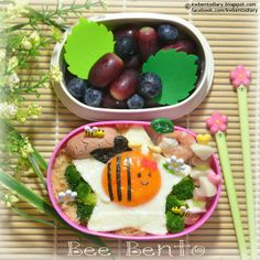posted from @Karen Wee's Bento Diary #bee #busybee #honeybee #bento #obentoart #kwbentodiary #lunch #kidsbento http://kwbentodiary.blogspot.com/2014/04/bento2014apr16-bee-bento.html …