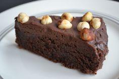 Nigella chocolate nutella cake hazelnuts