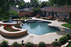 Photo gallery: Free form natural | Tahitian Pools | Dallas-Fort Worth