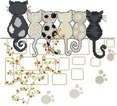 gatti di attesa cross stitch kit, punto 14 ct 139 * 127, ... https://www.amazon.it/dp/B00WR2Z1US/ref=cm_sw_r_pi_dp_x_UTeRxbTTD1ZFV