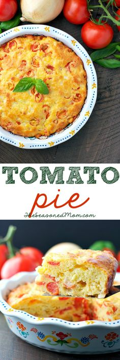 This easy Tomato Pie