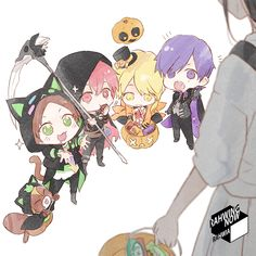 Vocaloid, Servant Of Evil, Chibi Wallpaper, Art Poses, Trick Or Treat, In This World, Happy Halloween, Minnie Mouse, Kawaii