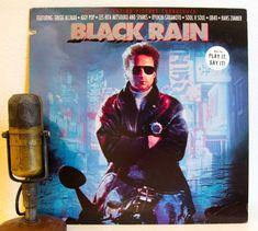 "ON SALE Gregg Allman (Allman Brothers), Iggy Pop (The Stooges), Soul II Soul Vinyl Record 1980s Stage & Screen Soundtrack ""Black Rain"" (1989"