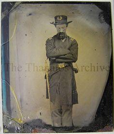 Civil war medical officer. Possible standing postmortem.