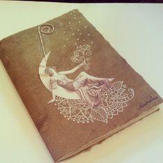 Quaderno Memory #vintage #photo #collage #notebook #handmade #handpainted #retrò #woman #zentangle #doodle #paisley #dudala