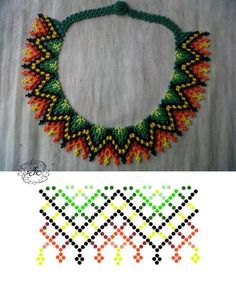 Breath of Beads's photos I wanted to show you how to make a bracelet with natural stone and leather thread … Diy Necklace Patterns, Jewelry Patterns, Beading Patterns, Seed Bead Tutorials, Beading Tutorials, Seed Bead Jewelry, Beaded Jewelry, Beaded Collar, Beads And Wire