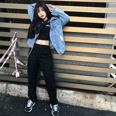 Korean Clothing Styles The Beige Blouse Korean Fashion Minimal, Korean Fashion Summer, Korean Fashion Casual, Korean Fashion Trends, Korean Street Fashion, Korean Outfits, Asian Fashion, Girl Fashion, Fashion Outfits