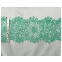 Mint stretch lace