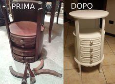 Restauro di un settimino - restauro mobili