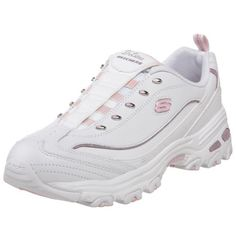 Amazon.com: Skechers Women's D'Lite - Dazzles Lace-Up Fashion Sneaker: Shoes