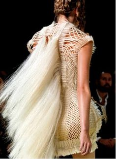 If Its Hip, Its Here: For The Alexander McQueen 2011 RTW Collection, Sarah Burton Had Some Big Shoes To Fill. Look What She Did With Them.