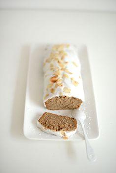 Snow pain d'épices à l'érable (sans gluten - sans lactose - sans oeuf - vegan) glaçage royal à l'orange (sans gluten - sans lactose) | vanessa pouzet le blog