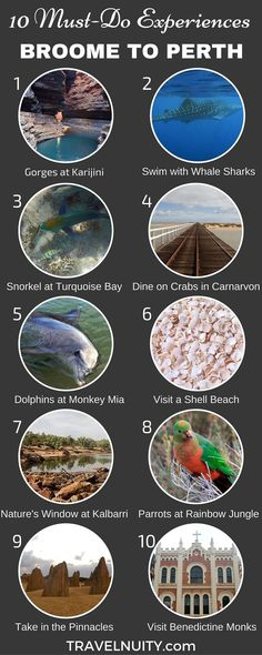 10 Must-Do Experiences from Broome to Perth (scheduled via http://www.tailwindapp.com?utm_source=pinterest&utm_medium=twpin&utm_content=post180513971&utm_campaign=scheduler_attribution)