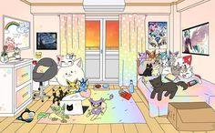 Dorm Room Layouts, Dorm Rooms, Uzumaki Family, Dormitory, Teenager, My Hero Academia, Script, Novels, Backgrounds