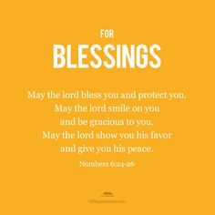http://biblepromisesapp.com/ #Blessings #Numbers
