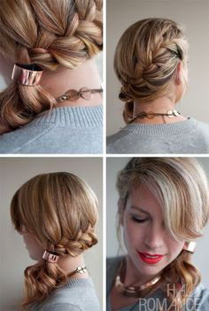 Innovative Side Ponytail Hairstyles