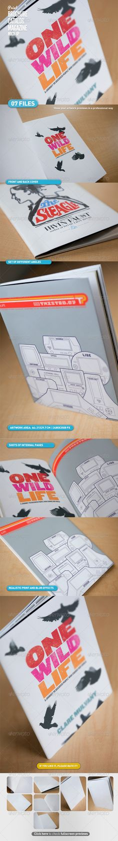 Catalogue/magazine mock-up - itscroma on graphicriver $8