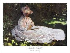 La Liseuse  The Reader  Claude MONET 1872