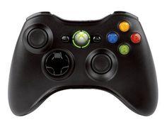 Microsoft - Mando Inálambrico, Color Negro (Xbox 360) (Xbox 360) Mando Inálambrico Microsoft xbox controlador inalámbrico negro