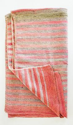 Vintage Andean Blanket/Rug #12