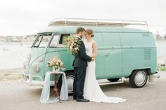VW Bus Inspiration - Who is she going to have the longer relationship with - the guy or the bus!?!?!?!?