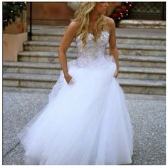 Pnina Tornai wedding dress, so beautiful this is my dream dress. Guess I should save my pennies