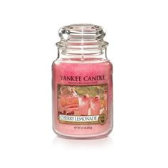 YANKEE CANDLE ~ CHERRY LEMONADE ~ SPRING 2017 ~*~