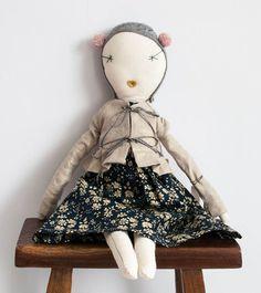 Jess Brown Rag Doll, No.8
