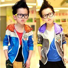 boys * fashion * korea style: color block decoration jacket - entdeckt durch: www.modenavigator.de