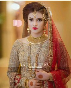 Bridal Jewelry Don't Just Wear It For The Wedding Pakistani Wedding Outfits, Pakistani Wedding Dresses, Bridal Outfits, Bridal Makeup Looks, Bridal Looks, Bridal Style, Pakistan Bride, Pakistan Wedding, Bridal Makeover