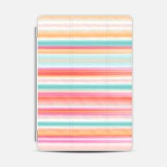 Check out my new @Casetify using Instagram & Facebook photos. Make yours and get $10 off using code: P457MB #casetify #stripes #summer #colorful #pastel #ipad #case #photo #cover #nikamartinez