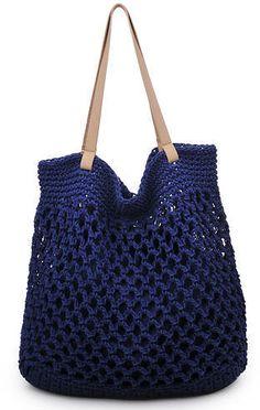 Moda Luxe Bacara crochet Tote Bag (affiliate link)