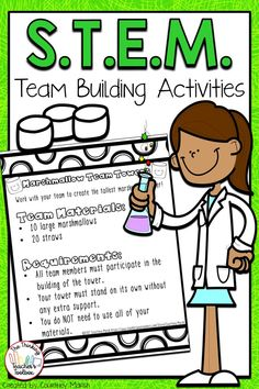 Are you looking for fun and easy STEM activities to help build community in your classroom? Do you need a fun, educational activity for the first days of school or anytime throughout the year? Does your class need to improve their teamwork? Team Building Activities, Teaching Activities, Teaching Writing, Stem Activities, Educational Activities, Building Games, Grammar Lessons, Science Lessons, Science Ideas