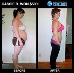 With #turbojam and #shakeology these results were achieved in 90 days.