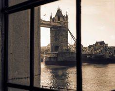 London Photography Tower Bridge Photo Print Sepia by HausofAriella,